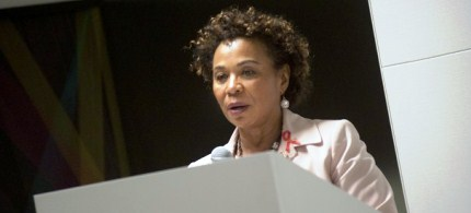 Congresswomen Barbara Lee's amendment to the House military spending bill would effectively end the war in Afghanistan. (photo: Getty Images)