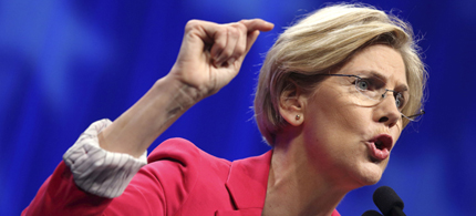 Massachusetts Senate candidate Elizabeth Warren. (photo: Getty Images)