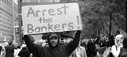 Arrest the bankers. (photo: DeviantArt.com)