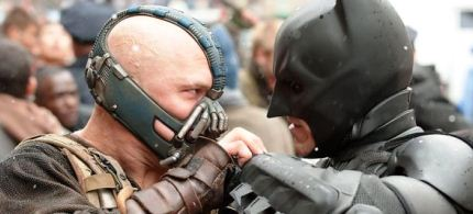 'The Dark Knight Rises' was a wallow in nonstop cruelty and destruction. (photo: Ron Phillips/Warner Bros./SF)