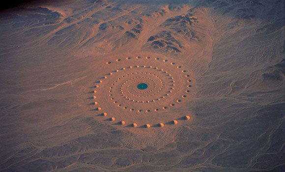 Epic Sahara Desert Art Installation Still Exists After 17 Years