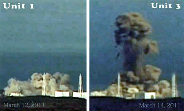 Reactors Explode in Fukushima
