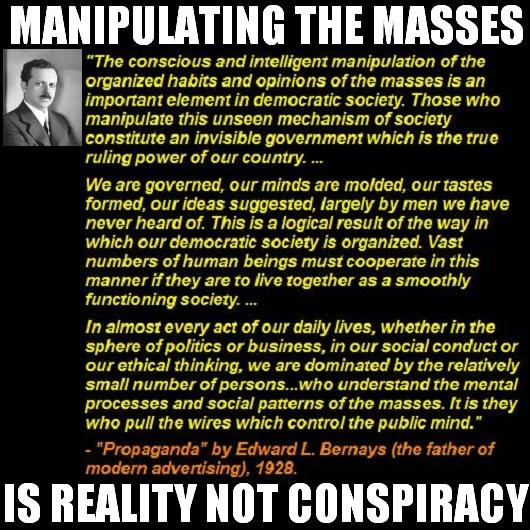 Propaganda - Media Manipulation Of Masses Key To Democratic Society
