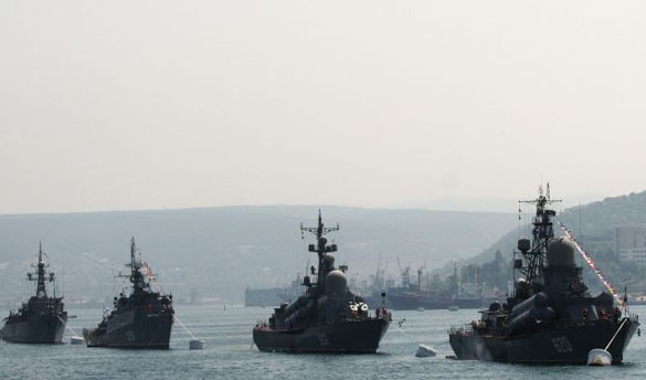 Russia sends more warships to Syria Reports