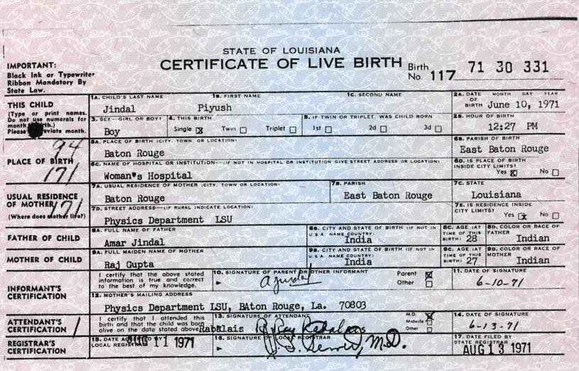 Where To Get Birth Certificate In Louisiana Best Design