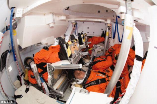 mars mission crew quarters - photo #9