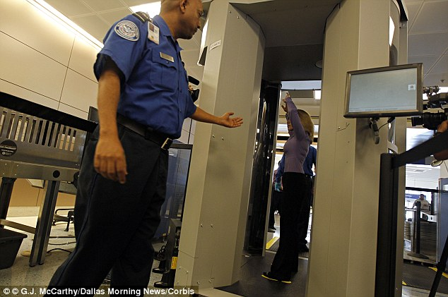 Dirty secrets: The blogger revealed that TSA agents would take revenge upon passengers with a bad attitude by subjecting them to unnecessary bag searches