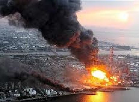 Image result for fukushima explosion