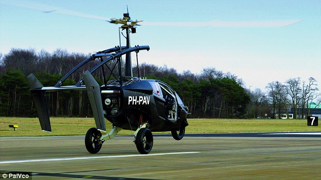 Flying Motorbike That Can Hit 112mph On Land And In The