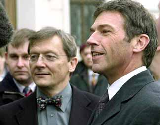 Joerg Haider and Wolfgang Schuessel