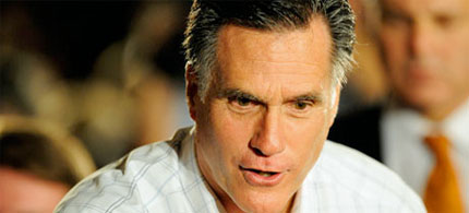 Mitt Romney has millions in offshore accounts which allow him to pay a lower tax rate. (photo: AP)