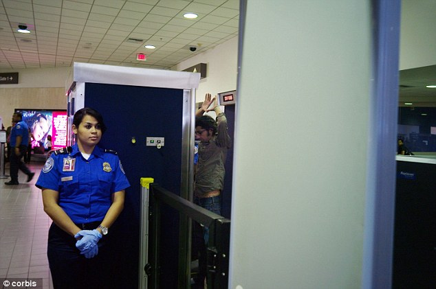 Out of sight: The ex-agent claimed that the TSA is trying to avoid having the radiation scanners subjected to oversight or public scrutiny