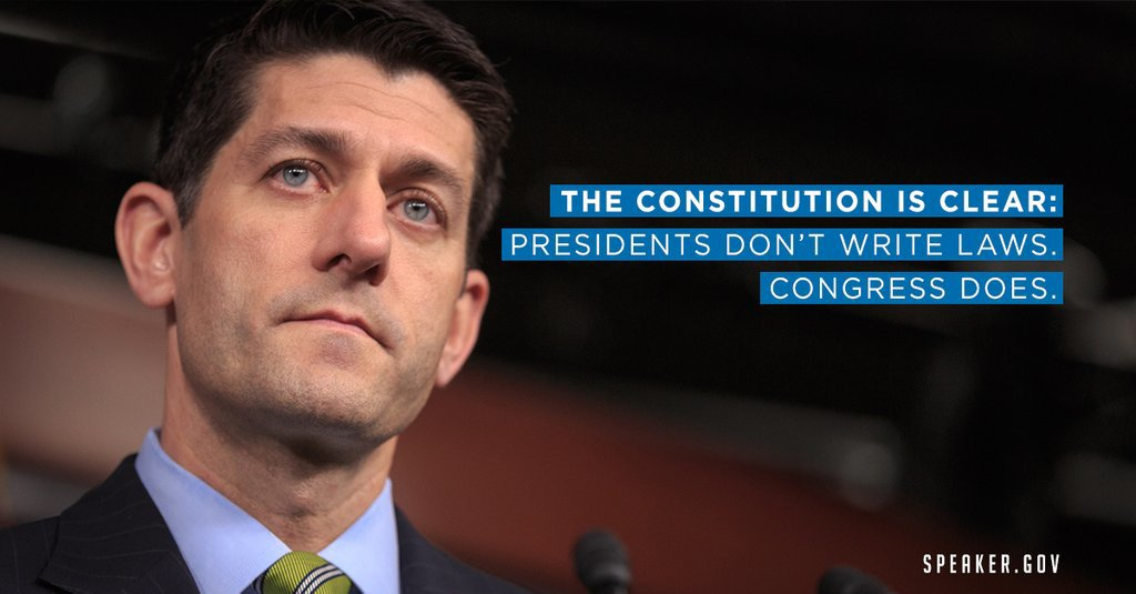 The Constitution is Clear: Congress Writes the Laws, Not Presidents