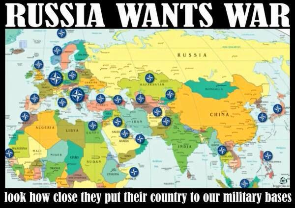 Russia Has Military Bases In Ten Countries US Empire Has Military - Us military bases in europe map