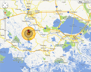 Bayou Corne sinkhole area butane-filled well explosion calculated to be more than that of an H-bomb