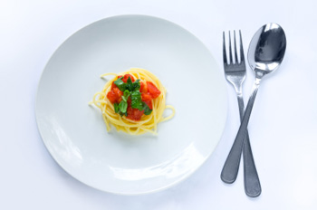 Small Plate of Pasta