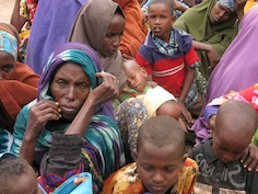 New arrivals at Dadaab wait for a medical check up. / Credit:Isaiah Esipisu/IPS