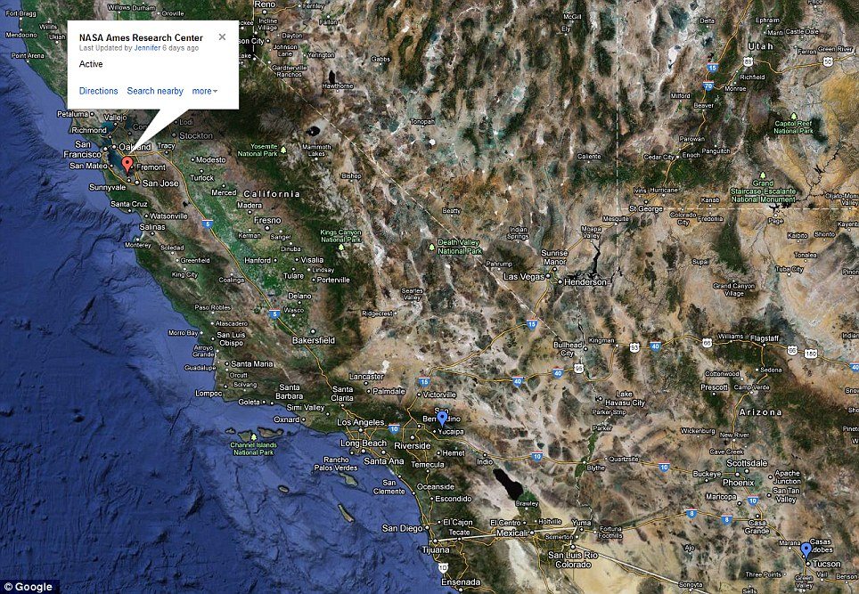 West Coast: There are comparatively few drone sites in California and Western states